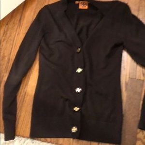 Tory Burch brown cardigan